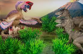 prehistoric world dinosaur diorama 3 raptor toys