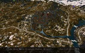 Ff9 World Map by Satellite World Map At Skyrim Nexus Mods And Community