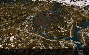 Naruto World Map by Satellite World Map At Skyrim Nexus Mods And Community