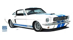 shelby 350 gt mustang revology announces plans to build licensed 1966 shelby g t