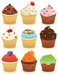 Cherry Cupcake Invitation Card Royalty Cupcakes Stock Vectors Royalty Free Cupcakes Illustrations