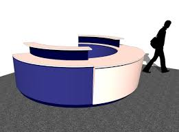 Free Reception Desk Round Retail Sales Counter Concept Design Inspiration Plus Free