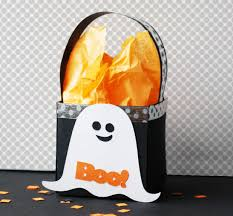 halloween goody bags how to make a halloween ghost treat box paper craft