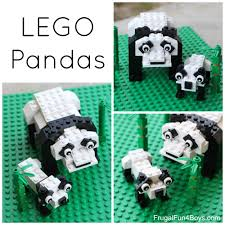 lego panda bear building instructions