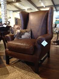 Rustic Living Room Chairs Wingback Accent Chair Bonners Furniture