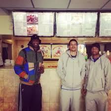 Barnes Los Angeles Los Angeles Clippers Players Lamar Odom And Matt Barnes At