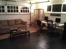 Laminate Flooring In Garage Duda Office In Garage Duda Blog
