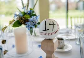 baseball themed wedding wedding theme of the week baseball theme