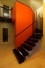 Modern Design Staircase Staircase Railing Ideas Staircase Modern With Accent Wall Colors