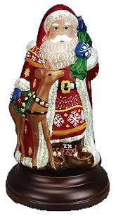old world christmas nordic santa night light 529755