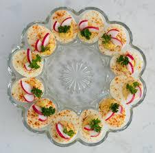 deviled eggs plate christmas deviled eggs foodlove