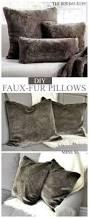 Faux Fur Blanket Queen Best 25 Fur Pillow Ideas Only On Pinterest Fluffy Pillows