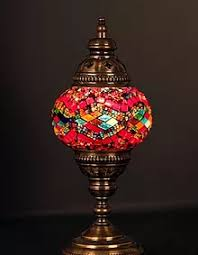 Mosaic Table Lamp Turkish Lighting Mosaic Lamps Ottoman Lamps Turkish Lamps