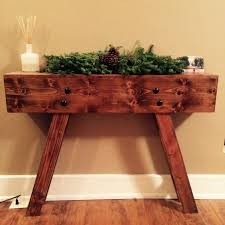 custom hallway entryway table