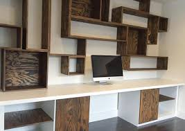 Small Study Room Interior Design Shelf Saving Small Study Room Spaces With Wood Wall Mounted