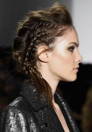 hair s s 2015 trendy braids hairstyles for ss 2015 messy braid volume front