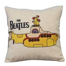 beatles home decor amazon com popular colourful the beatles throw pillow case decor