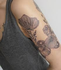 poppy flower tattoo tatuajesxd