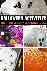 halloween activities for kid u0027s halloween learning ideas