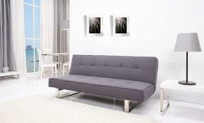 sleeping sofa bed comfortable gray fabric convertible sleeper couch mixed with peach living room