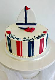 nautical baby shower cakes baby shower cakes fluffy thoughts cakes mclean va and