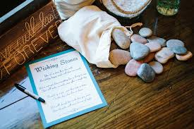 wedding wishing stones a plantation wedding in charleston kate aspen