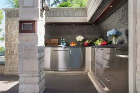 contemporary kitchen best design for outdoor kitchen cabinets the