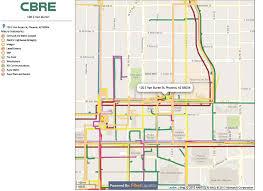 Phoenix Az Map by Digital Realty U2013 120 East Van Buren Street Cbre Data Center
