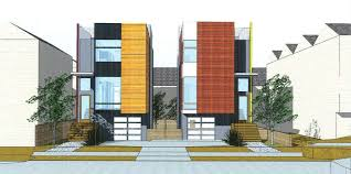 High Efficiency Homes Urbantecture Seattle New Construction High Efficiency Modern