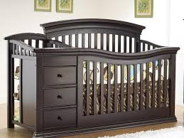 Black Crib With Changing Table Changing Tables Black Crib With Changing Table Black Crib