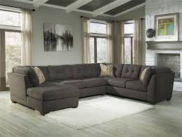 sofa light gray sectional oversized sectionals pit sectional