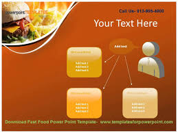 Downaload Fast Food Powerpoint Template Youtube Fast Food Ppt