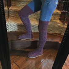 ugg boots sale high 43 ugg shoes sold ugg thigh high knit plum sweater boots
