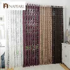living room curtains luxury fashion style semi blackout curtains kitchen curtains