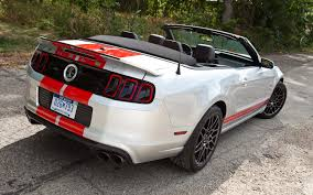 mustang shelby gt500 convertible 2013 ford shelby gt500 convertible editors notebook