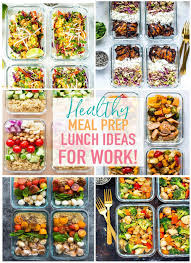 20 easy healthy meal prep lunch ideas for work the on bloor
