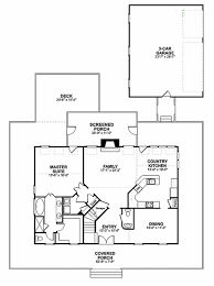 House Plans With Screened Porch Farmhouse Style House Plan 3 Beds 2 50 Baths 2098 Sq Ft Plan 56 238