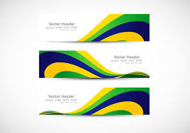Free Graphics For Business Cards Header With Brazilian Flag Wave For Business Card Download Free