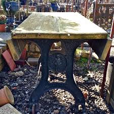 cast iron table bases for sale for sale antique wooden topped cast iron table salvoweb uk