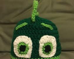 pj masks crochet hat etsy