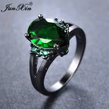aliexpress buy junxin new arrival black aliexpress buy junxin new fashion green water drop ring