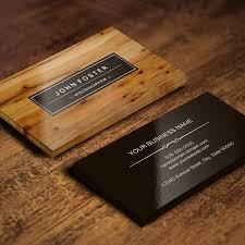 woodworker border wood grain business card custom business