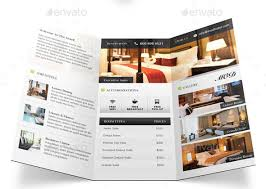 free templates for hotel brochures sle hotel brochure gorgeous exles of travel and leisure