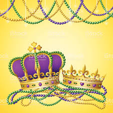 mardi gras crowns mardi gras king stock vector 165964149 istock