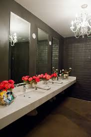 restroom arrangements are a really nice touch and an easy way to