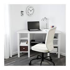 ikea bureau angle brusali bureau d angle blanc 120x73 cm ikea