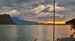 hotel schiff vitznau switzerland lake lucerne sunset photo