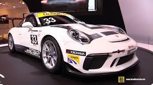 porsche 911 race car 2017 porsche 911 gt3 cup race car turnaround 2017 toronto auto