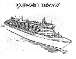 queen mary cruise ship coloring pages netart