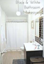 black white bathrooms ideas before after classic black white bathroom reveal hometalk